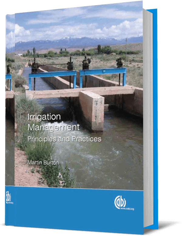 Irrigation Management; Principles and Practices
