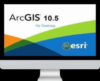 نرم افزار Arc GIS Desktop 10.5