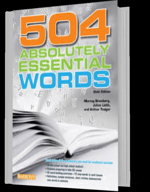 کتاب 504 لغت ضرروی (به همراه ترجمه)