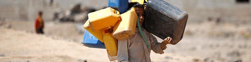 بحران آب در خاورمیانه
