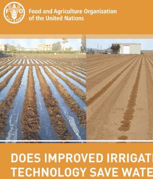 آیا فناوری پیشرفته آبیاری باعث صرفه جوی آب می شود؟