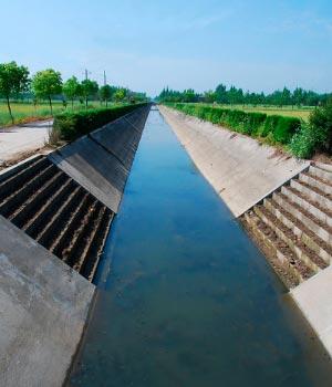 جریان کانال های باز - کانال های انتقال آب روباز