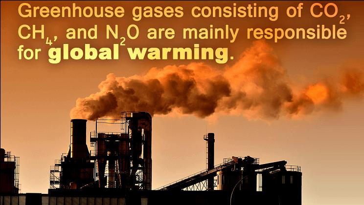 گازهای گلخانه ای و گرمایش جهانی