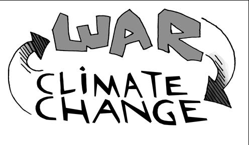 تغییر اقلیم و جنگ